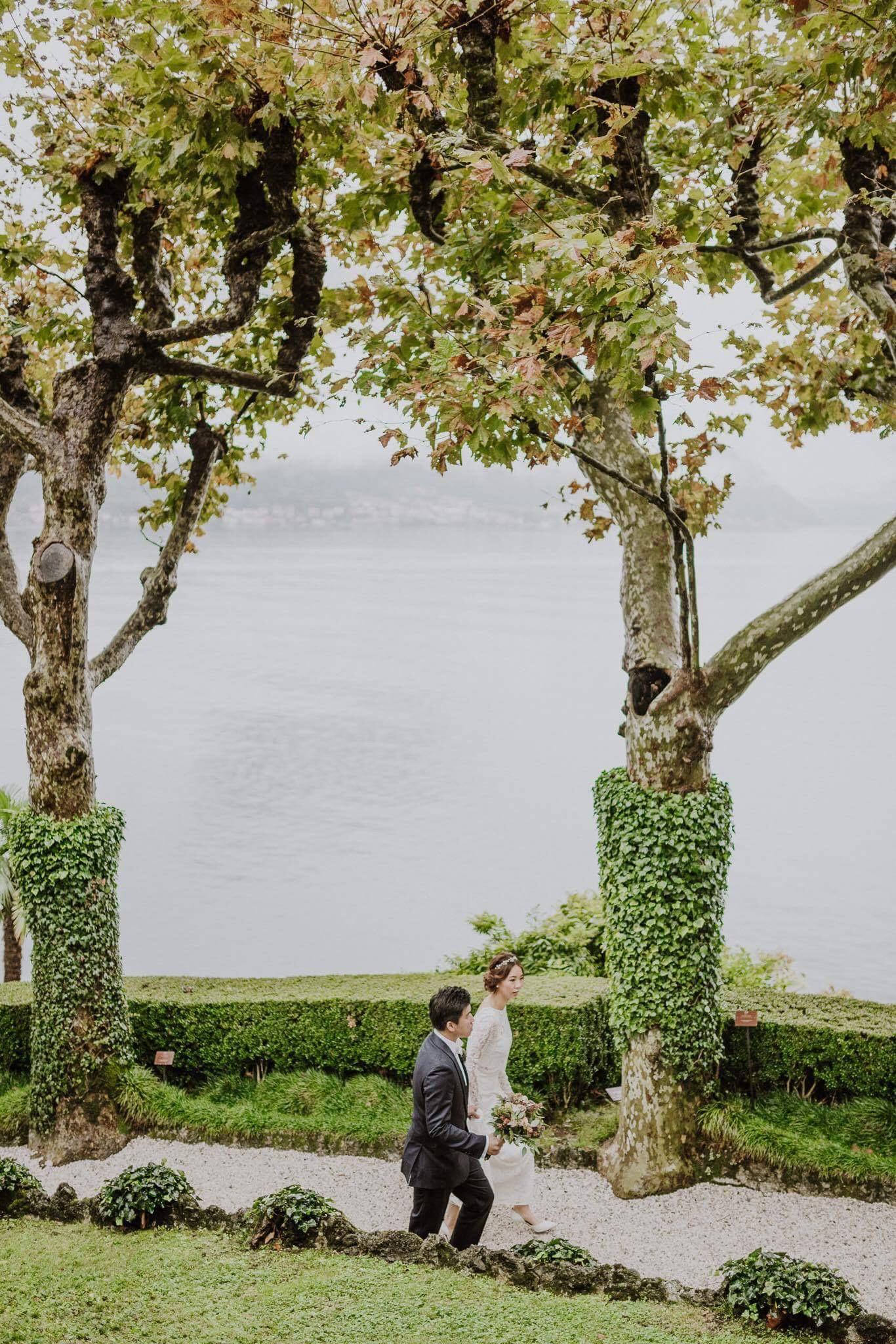 夢中的婚禮:3 個異國浪漫婚禮場地 lake como