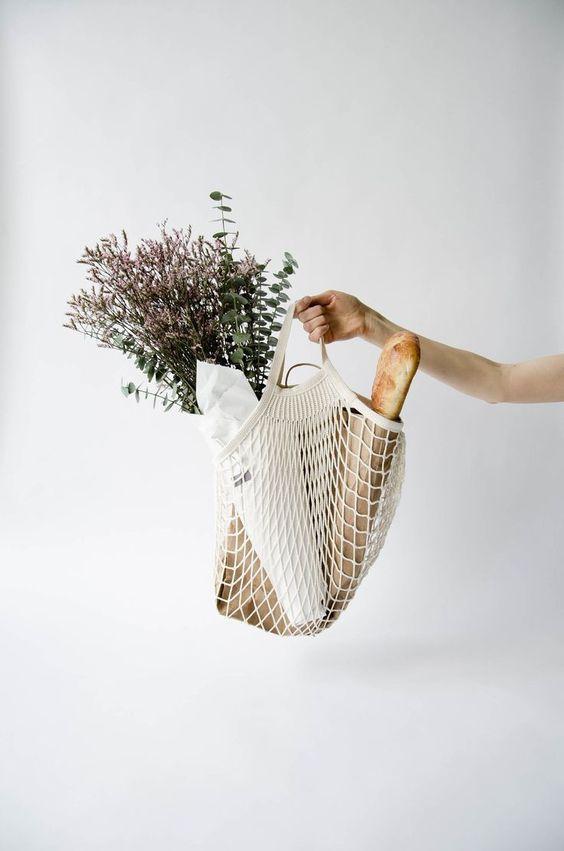每個法國人都有一個:又潮又環保的漁網購物袋