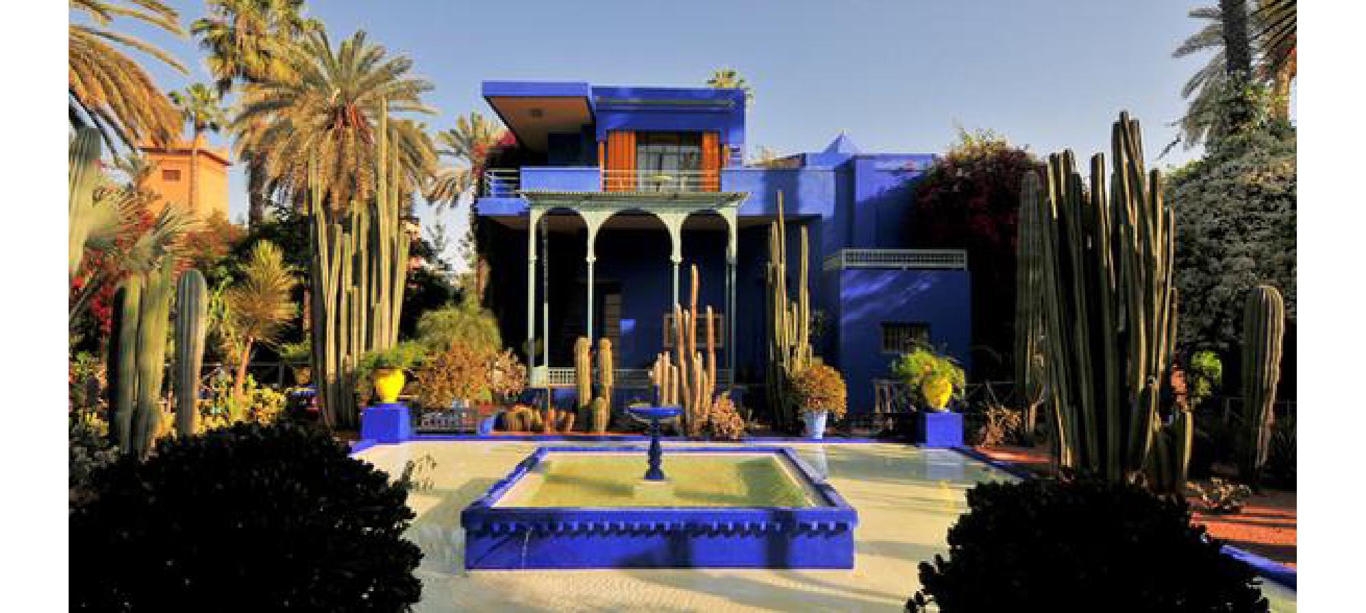 位於北美 :摩洛哥馬拉喀什 YSL 博物館
