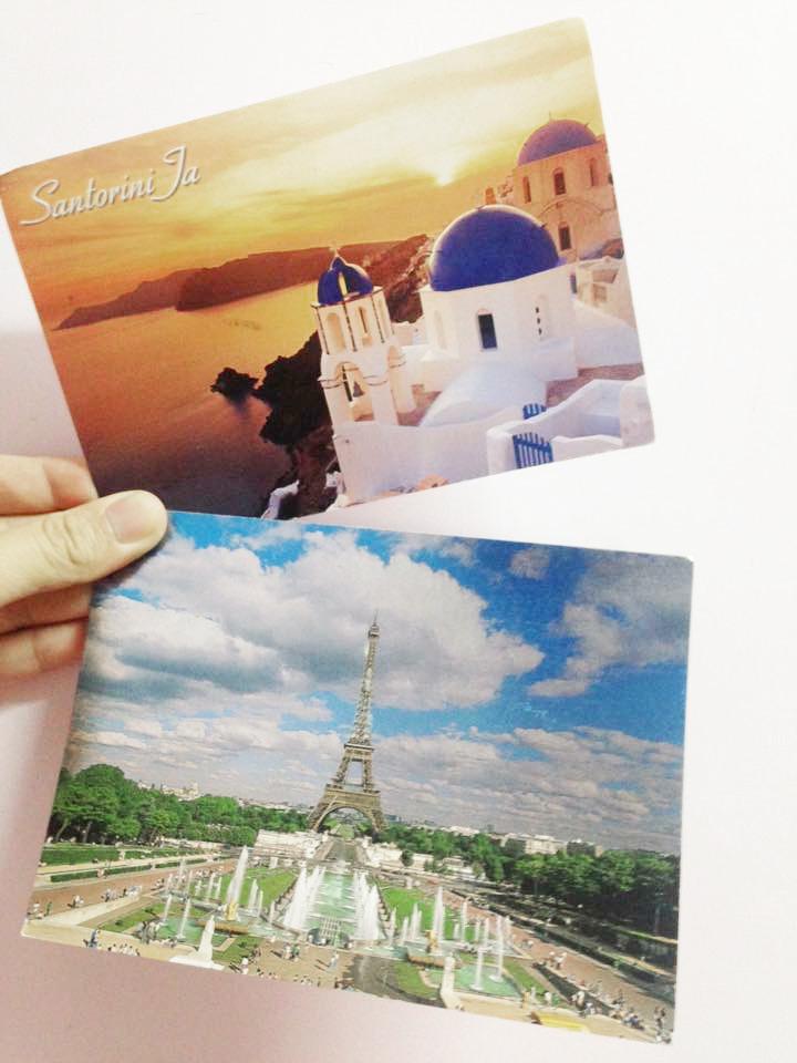 明信片說愛的故事 vol 3 一 希臘.聖托里尼