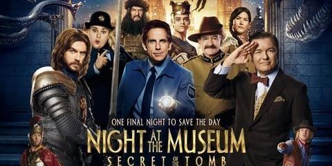新年宅在家,那就來部電影吧!《博物館驚魂夜》Night at the Museum