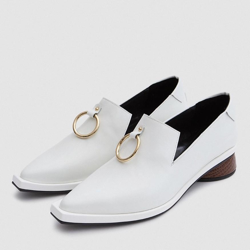 鞋子 過年 十年 過時 型格 皮鞋 Reike Nen 方頭樂福鞋
