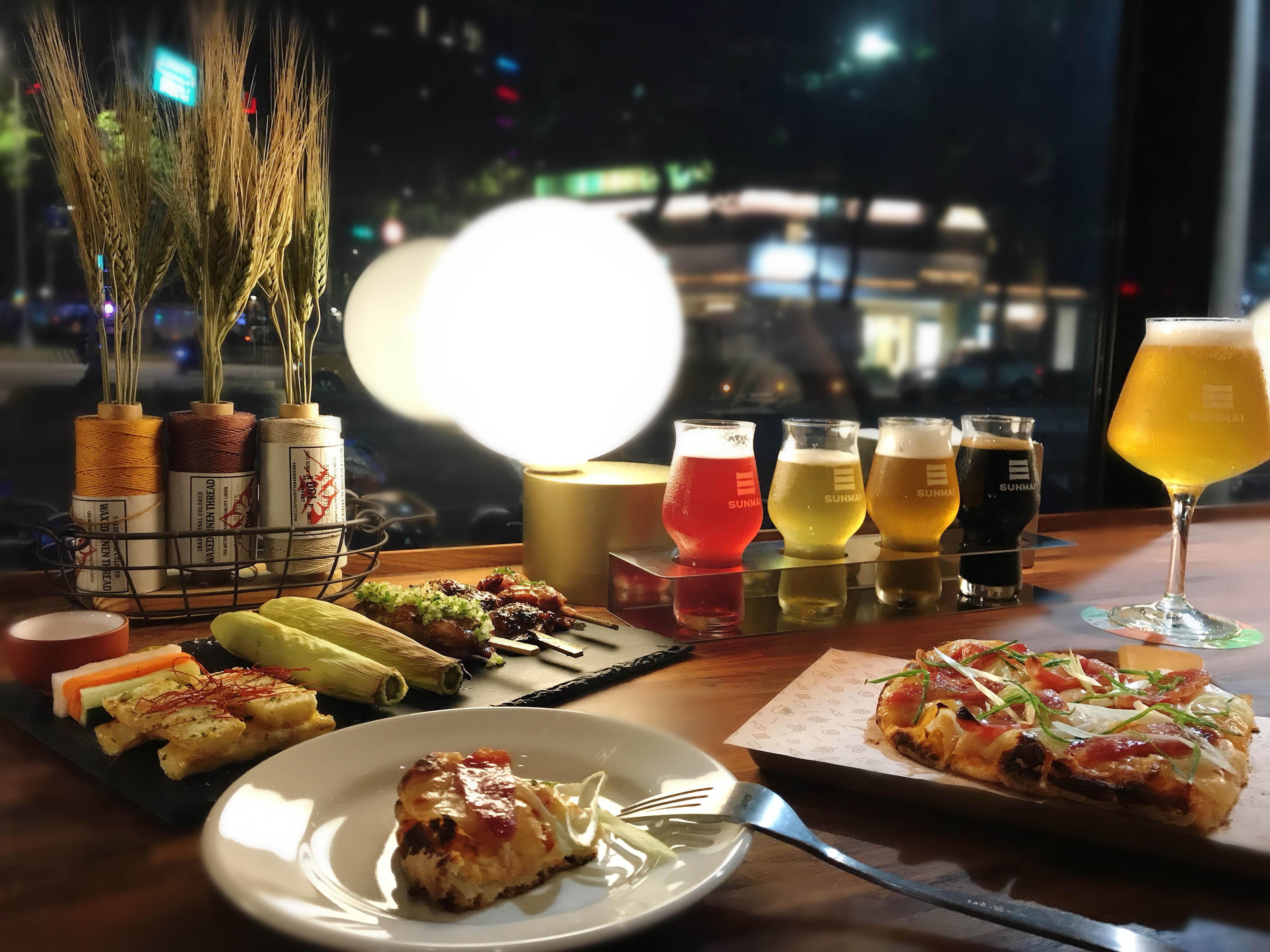 台北 安和 姊妹 暢聊 首選 SUNMAI BAR 金色 三麥 精釀 啤酒吧