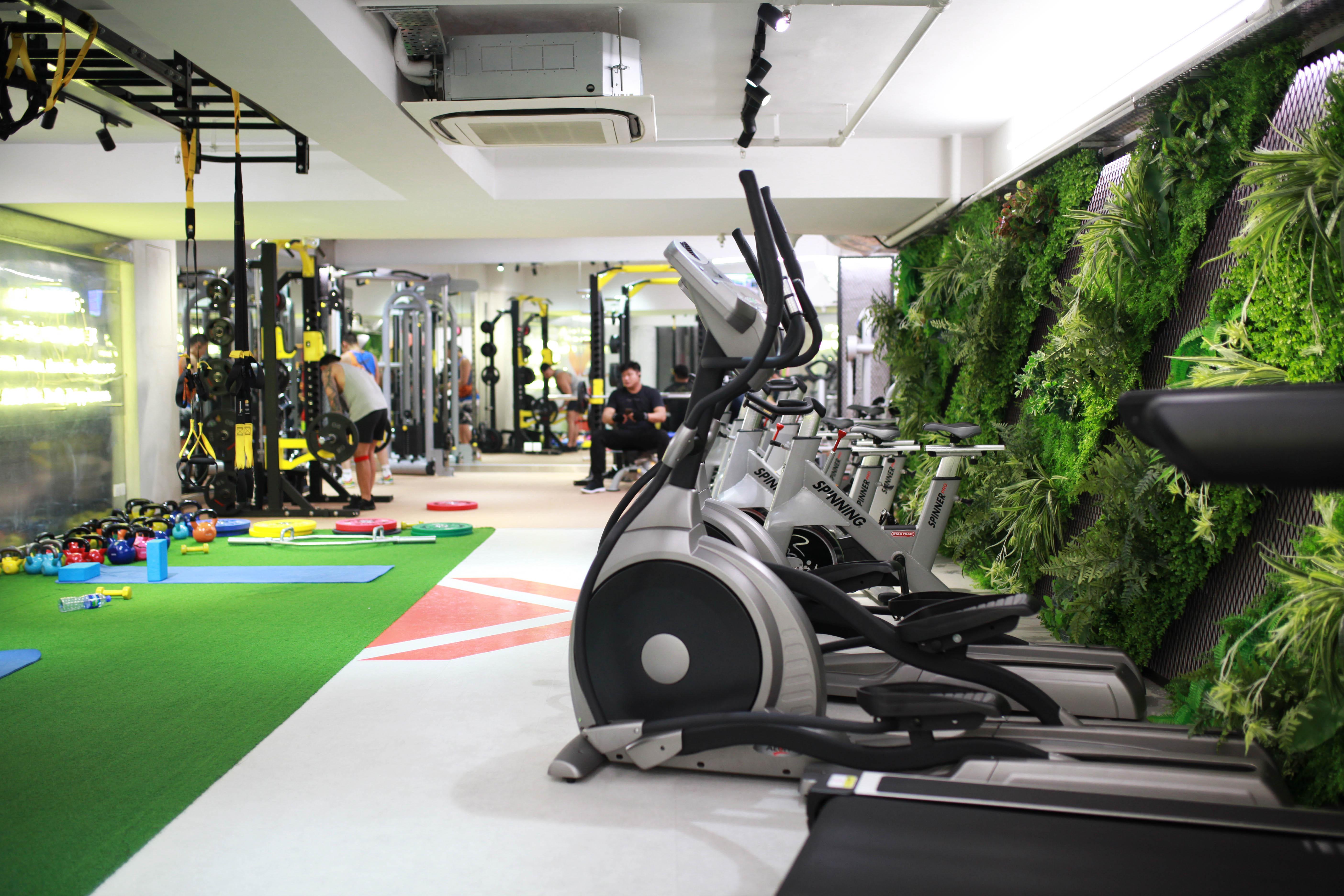 不讓 男生 專享 健身室 JK FITBOX fitness