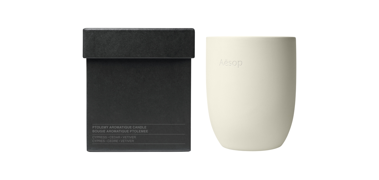 Aesop首推香氛蠟燭,用「純素」方式暗示黑暗中也能看到光芒!