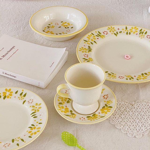 韓國女孩的生活儀式感,從佈置餐桌上的浪漫開始 !